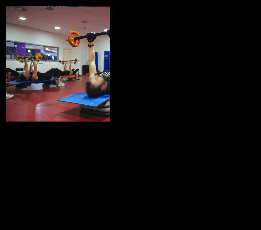 nuestras instalaciones en gimnasio corporea